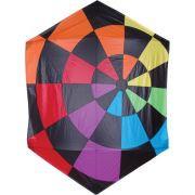 Rainbow Dartboard Rokkaku