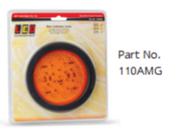 110AMG Rear Indicator with Black Grommet, Multivolt Single Pack