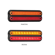 235BAR12 - Stop / Tail / Indicator 12v Single Pack. AL Ultimate LED