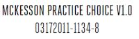 McKesson Practice Choice V1.0