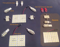 100 Series Toyota Land Cruiser interior LED kit