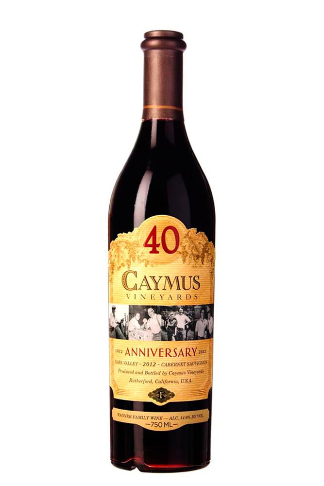 Caymus Cabernet Sauvignon 40 Year Anniversary