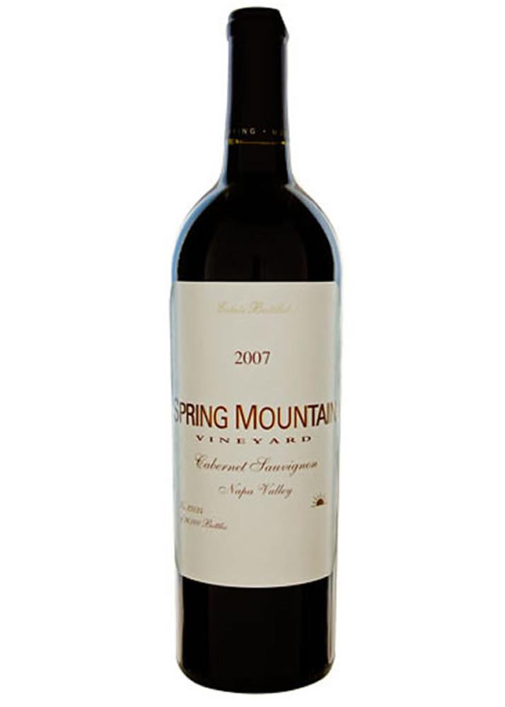 Spring Mountain Cabernet Sauvignon