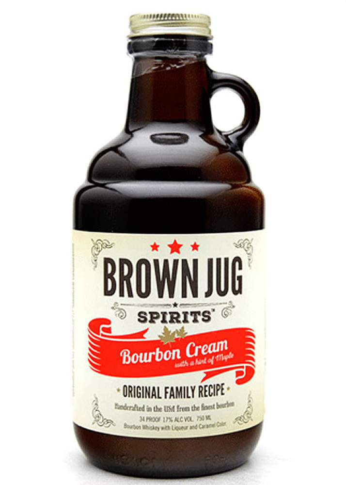 Brown Jug Bourbon Cream