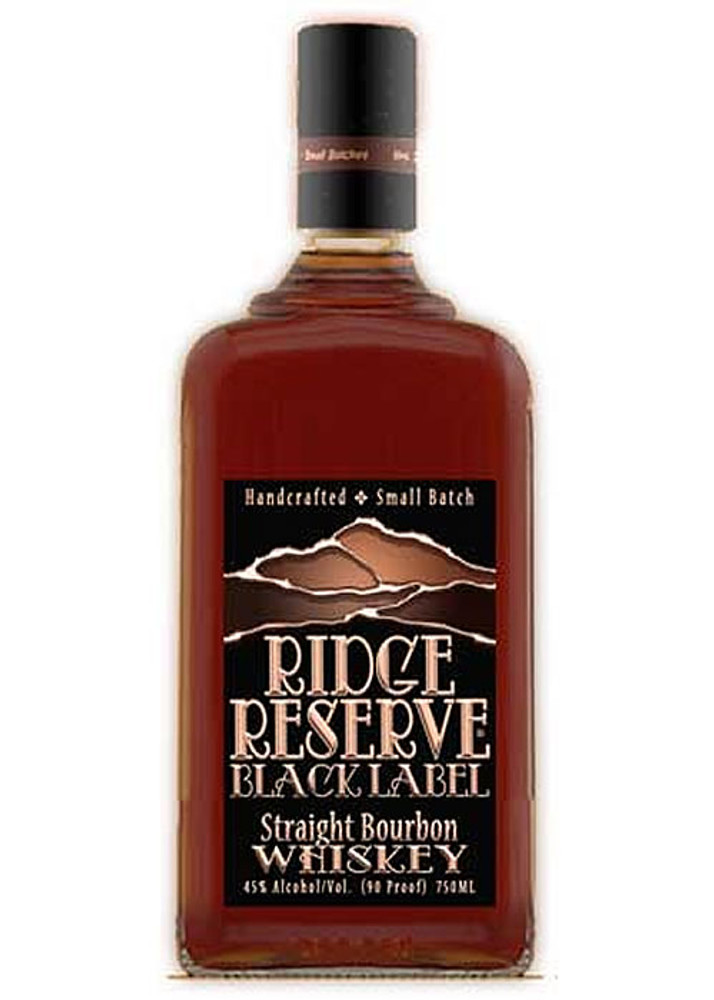 Ridge Reserve Black Label Bourbon