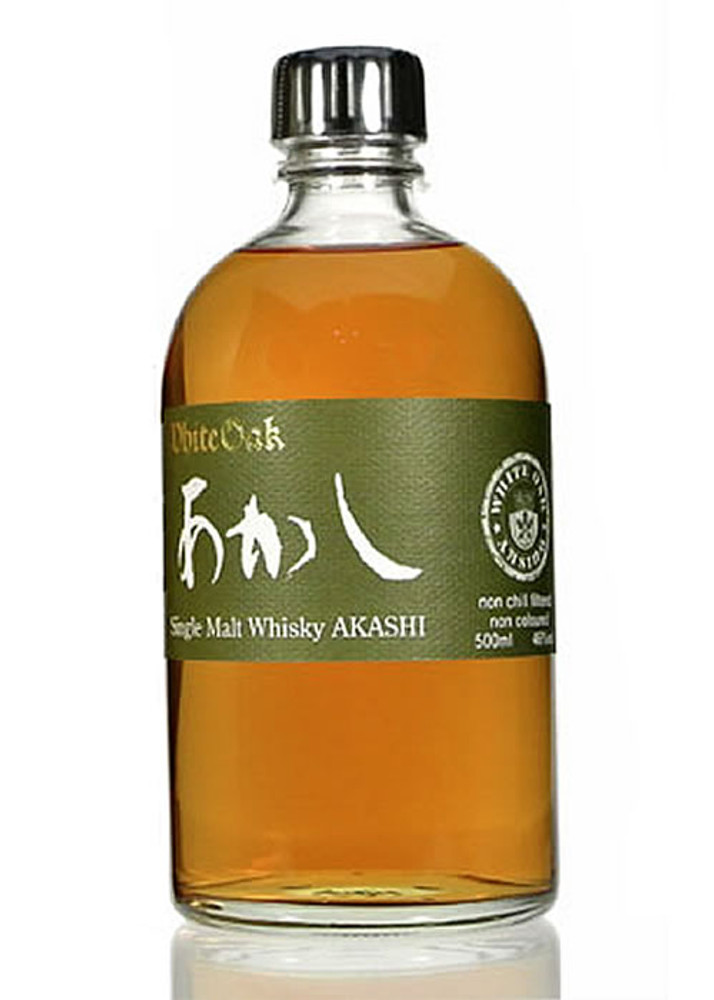White Oak Akashi Single Malt Japanese Whisky