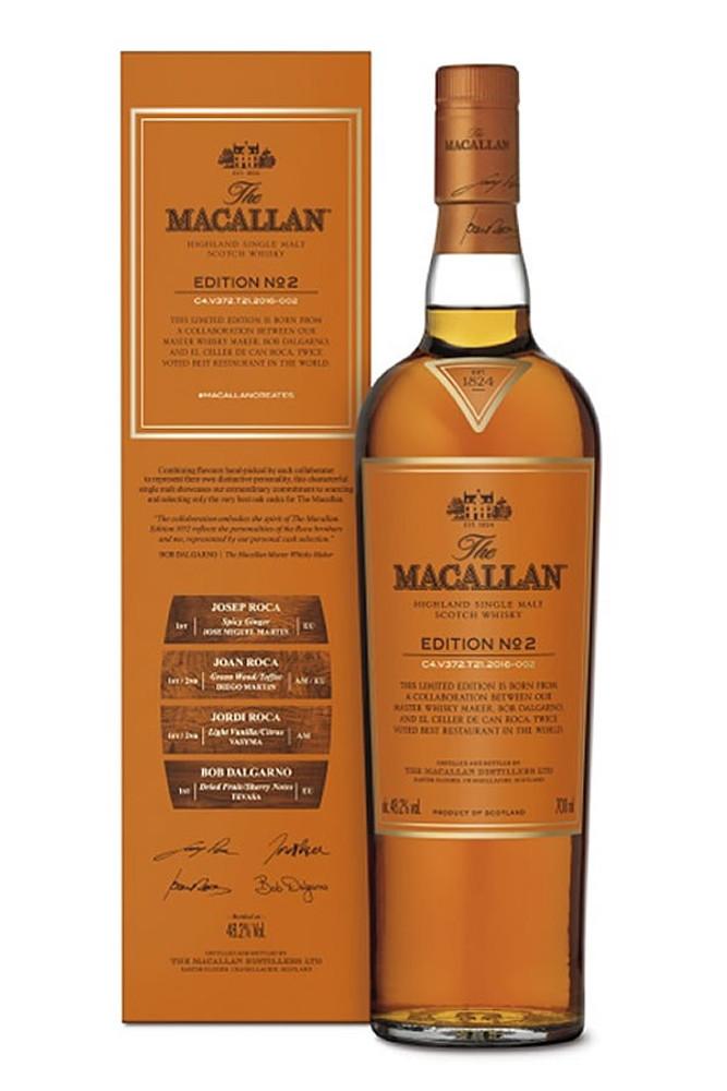 Macallan Edition No. 2