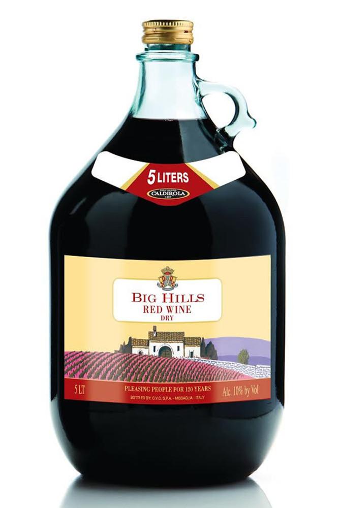 Big Hills Dry Red Wine