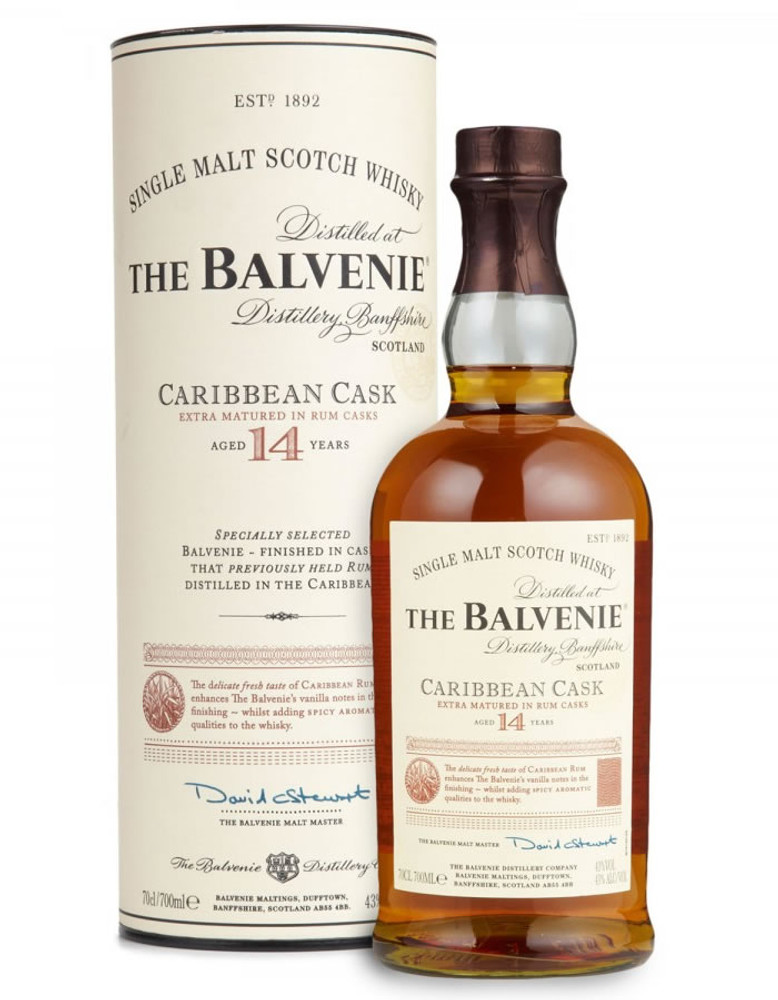 Balvenie 14 Years Old Carribean Cask