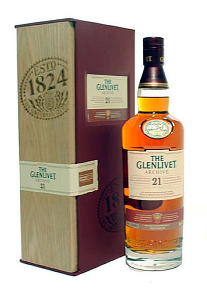 Glenlivet 21 Years Old