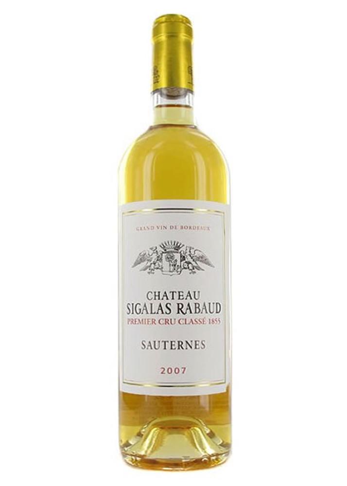 Chateau Sigalas Rabaud Sauternes