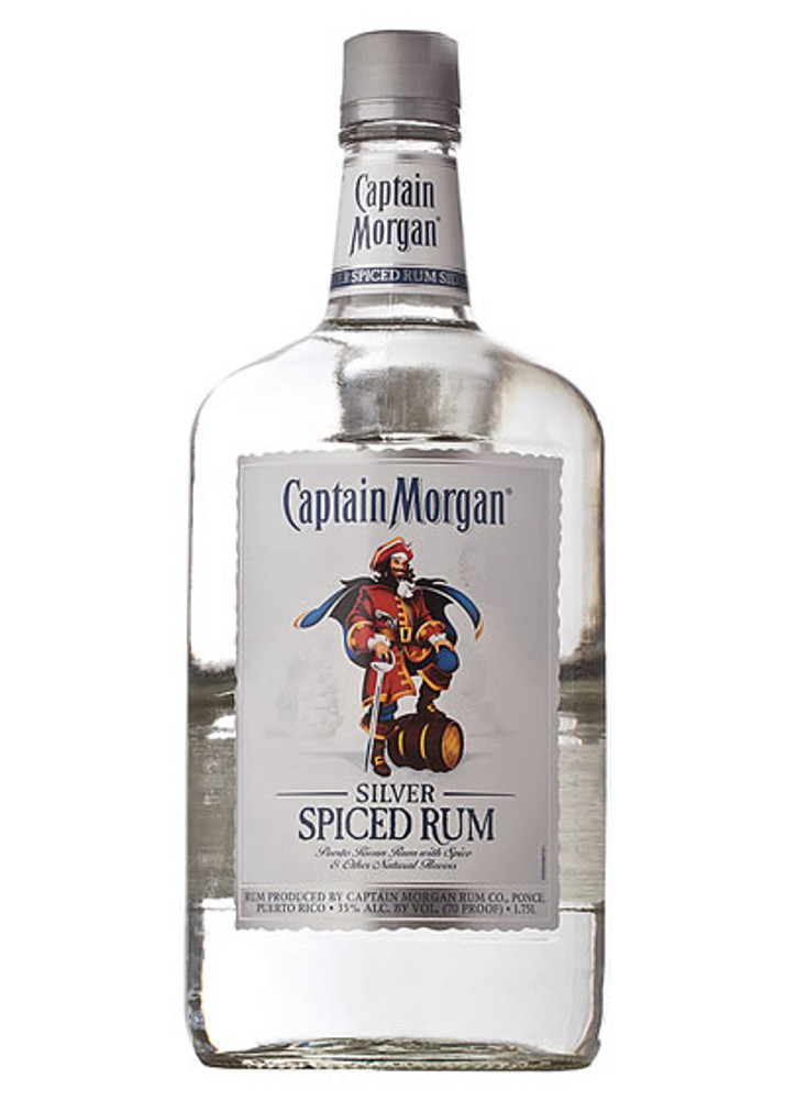 Captain Morgan Silver 1.75