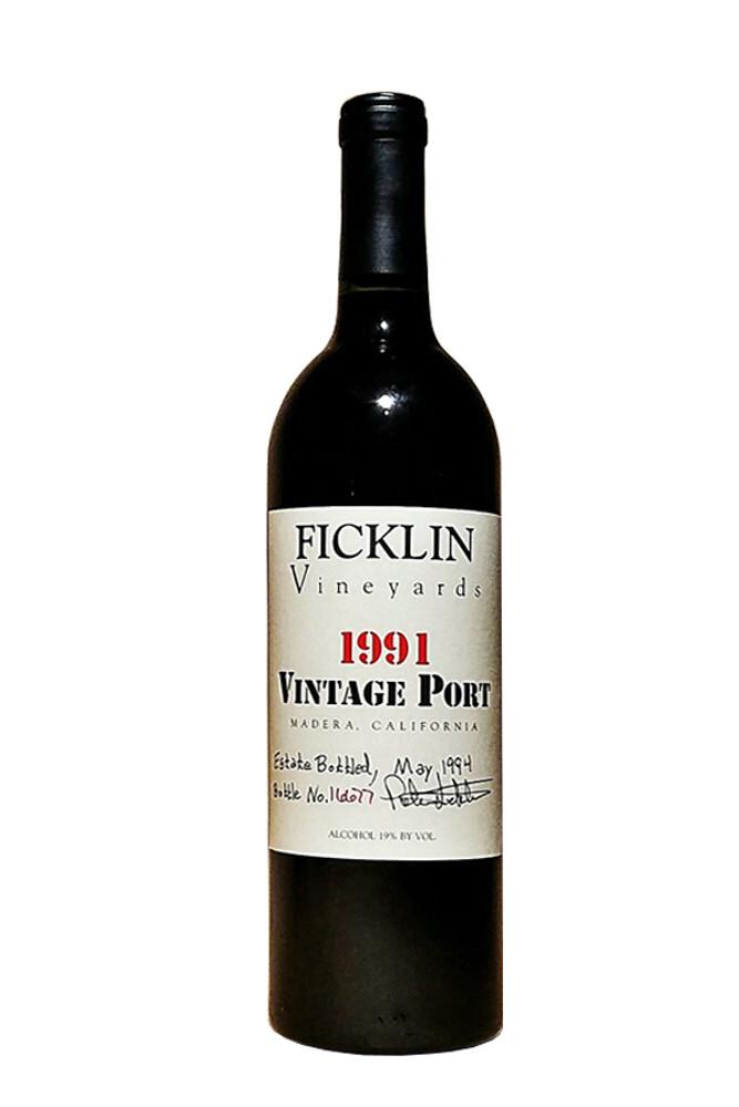 Ficklin Vintage Port - 1991