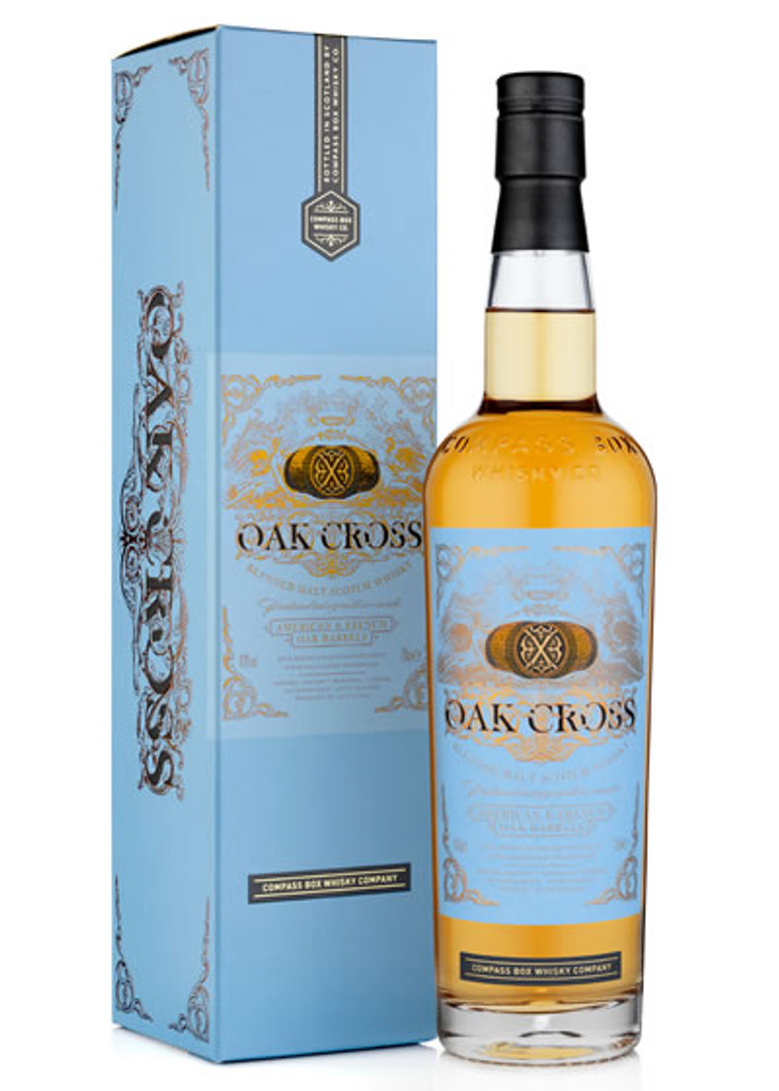 Compass Box Oak Cross