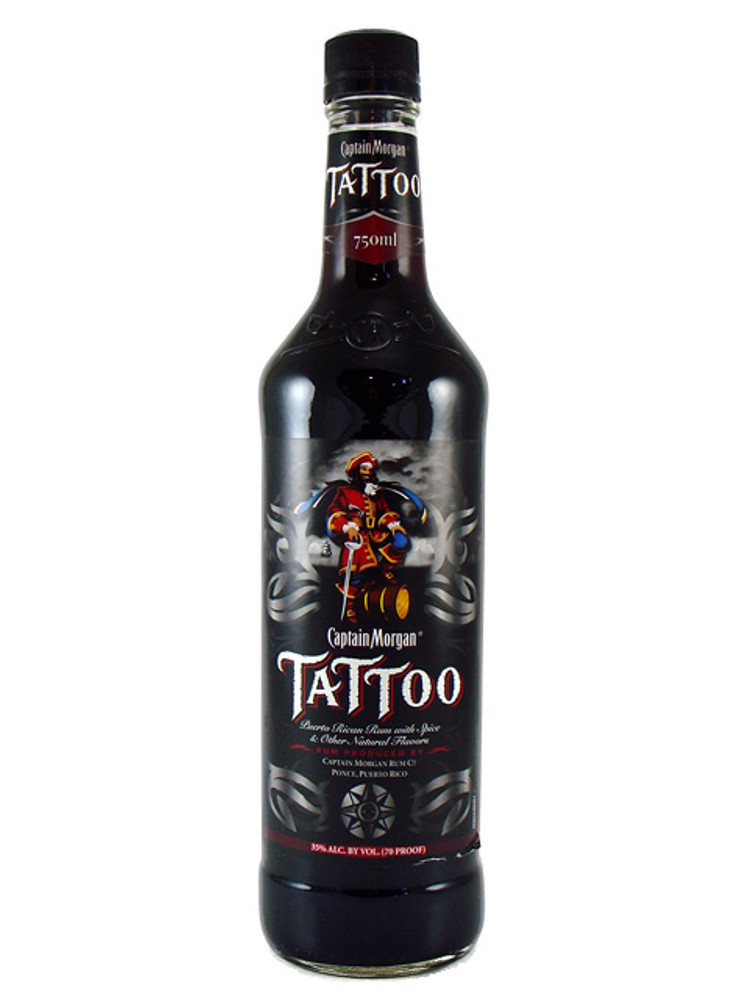 Captain Morgan Tattoo 750