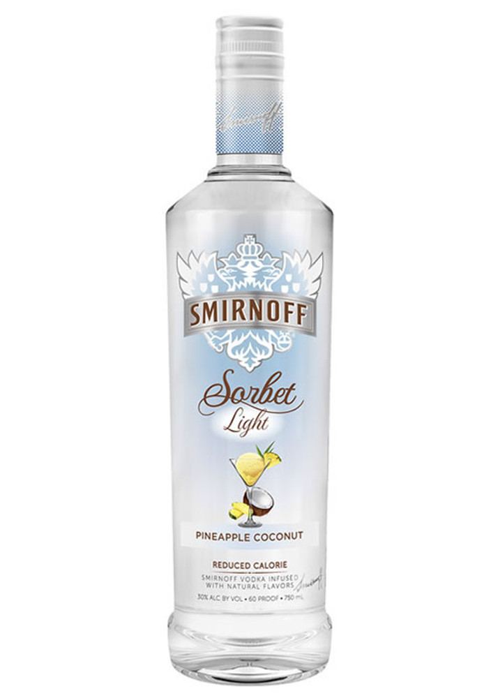 Smirnoff Sorbet Light Pineapple Coconut