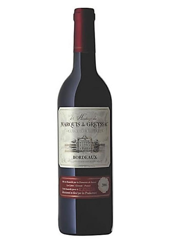 Marquis De Greyssac Bordeaux
