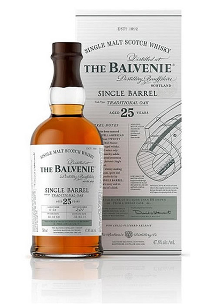 Balvenie 25 Year Single Barrel Traditional Oak