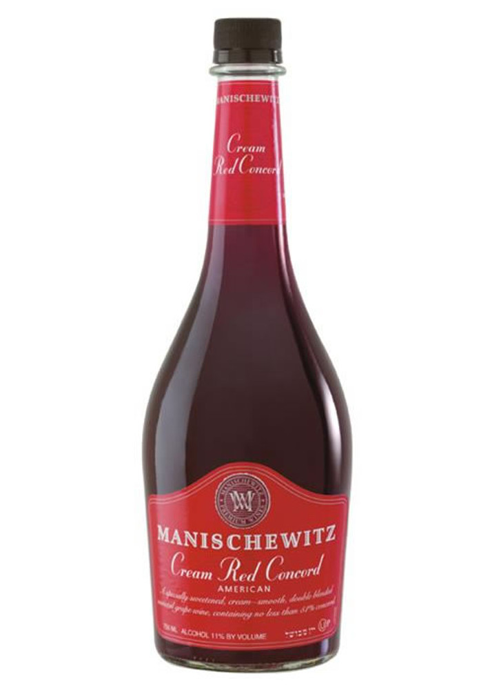 Manischewitz Cream Red Concord