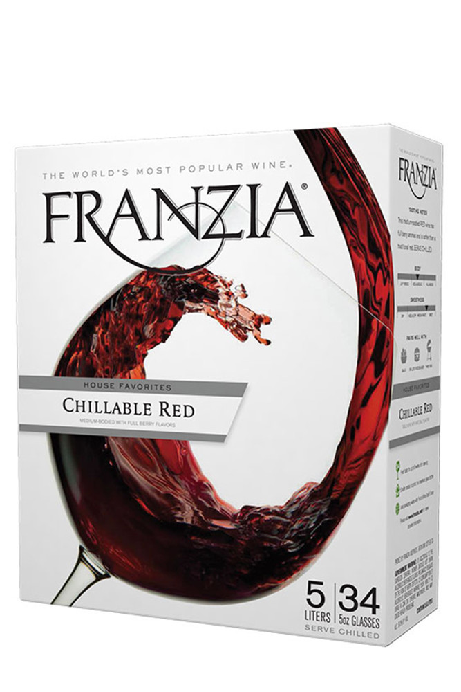 Franzia Chillable Red