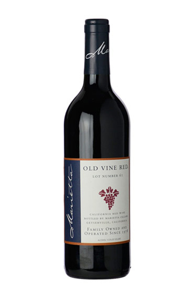 Marietta Cellars Old Vine Red Lot 61