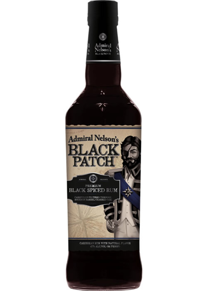 Admiral Nelson Black Patch Spiced