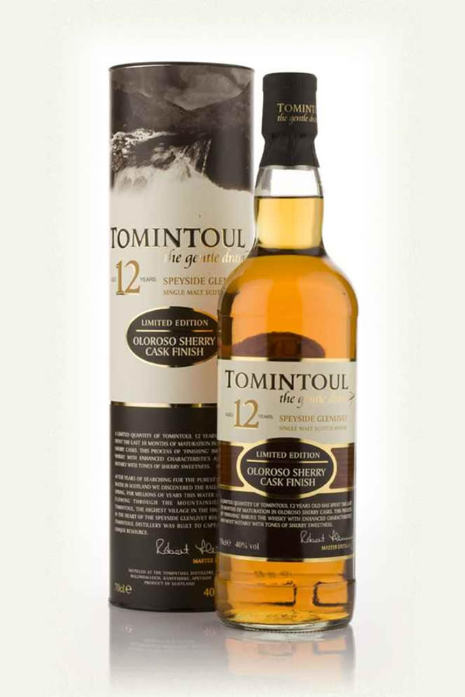Tomintoul 12 Year Oloroso Sherry Cask Finish