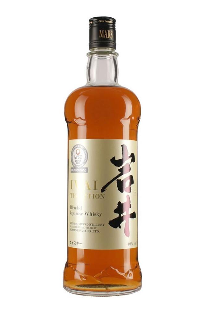 Shinshu Mars Iwai Tradition Japanese Whisky