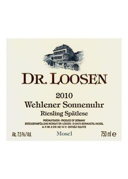 Dr Loosen Wehlener Sonnenuhr Riesling Spatlese