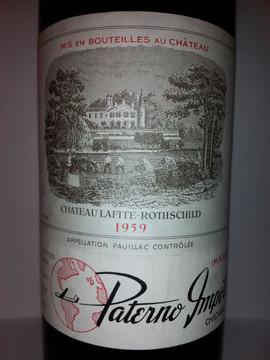 Chateau Lafite Rothschild 1959