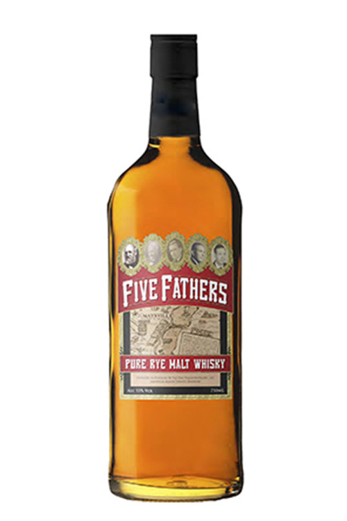 Five Fathers Pure Malt Rye 750ML