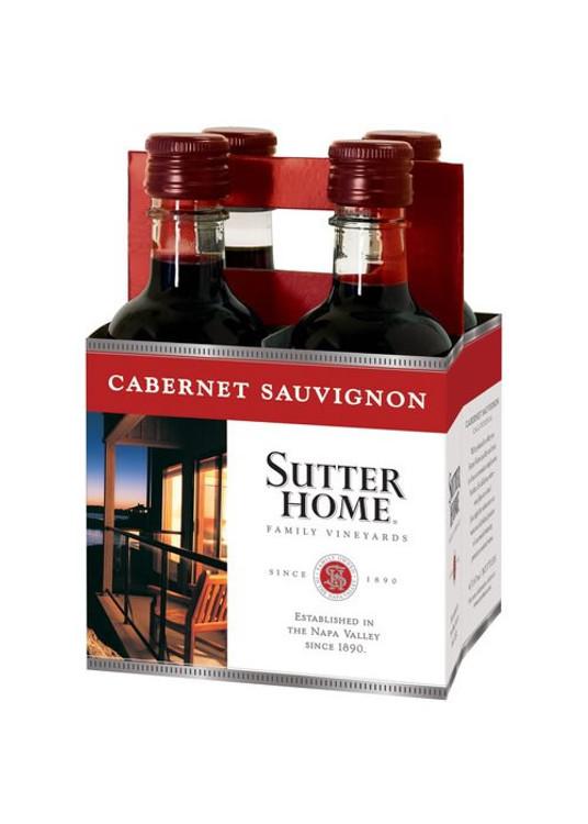 Sutter Home Cabernet Sauvignon 4Pk