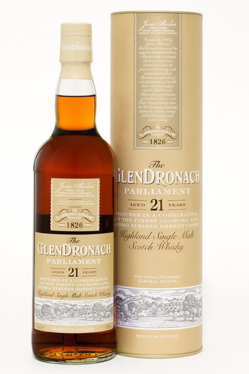 Glendronach 21 Year Old Parliament 750ML