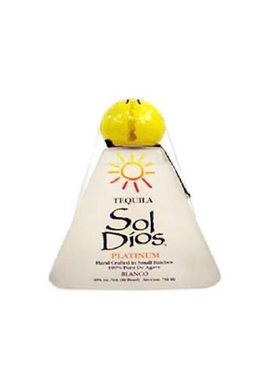 Sol Dios Platinum Tequila 750