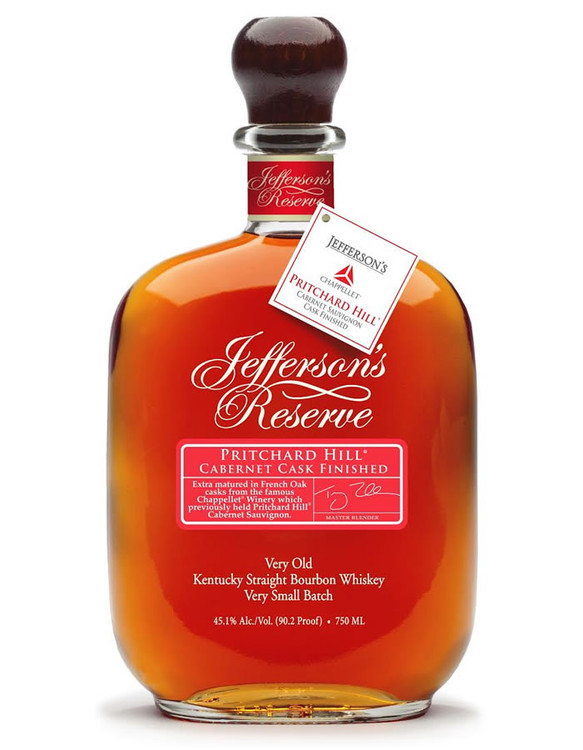 Jeffersons Reserve Pritchard Hill Cabernet Cask Finish 750ML