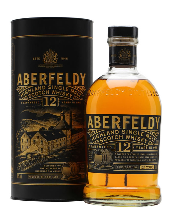 Aberfeldy 12 Years Old 750ML