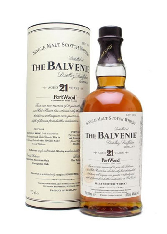Balvenie 21 Year Old Portwood 750ML