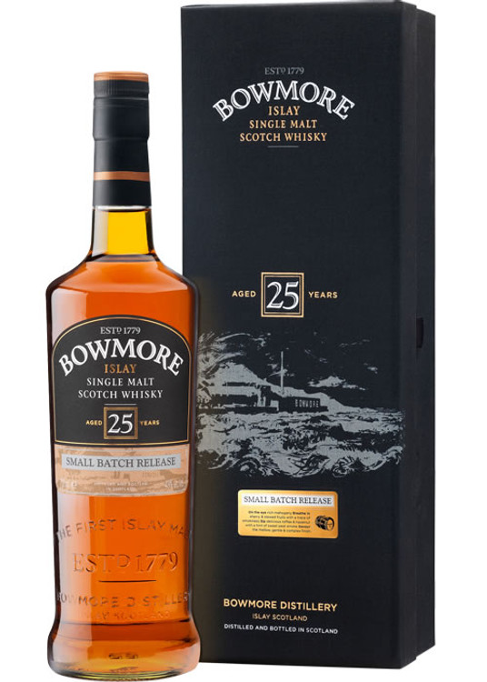 Bowmore 25 Years Old 750ML
