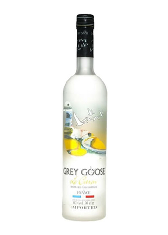 Grey Goose Le Citron Vodka 750ML