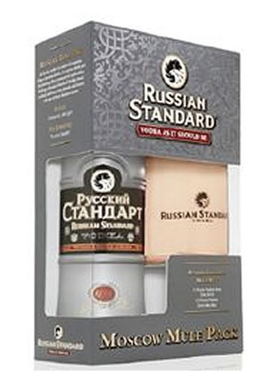Russian Standard 750ML Moscow Mule Gift Set
