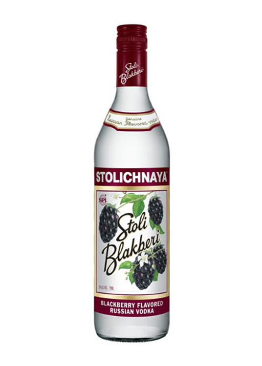 Stolichnaya Blackberry Vodka 750ML