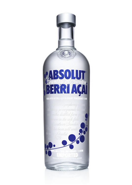 Absolut Acai Berry 750ML