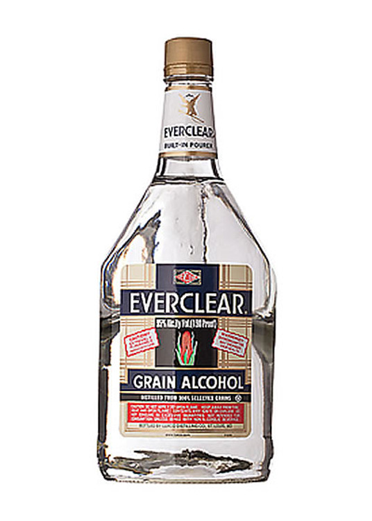 Everclear Grain Alcohol 190 Proof 1.75L