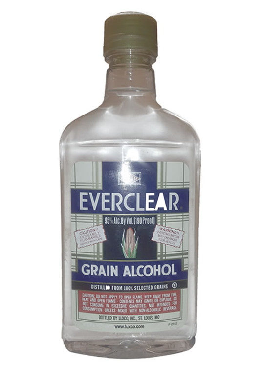 Everclear Grain Alcohol 190 Proof 375ML