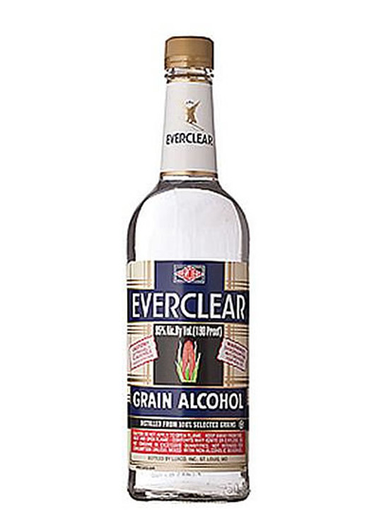 Everclear Grain Alcohol 190 Proof 750ML
