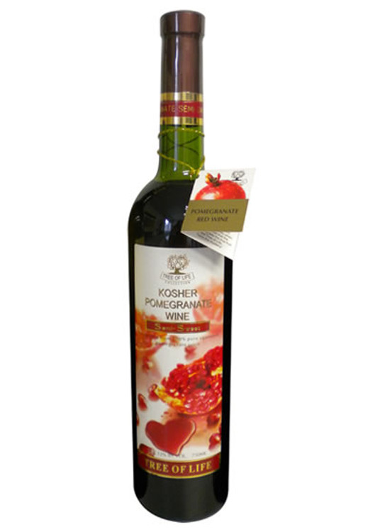 Tree of Life Kosher Pomegranate Wine