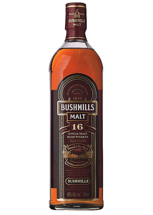 Bushmills Single Malt 16 Years Old 750ML