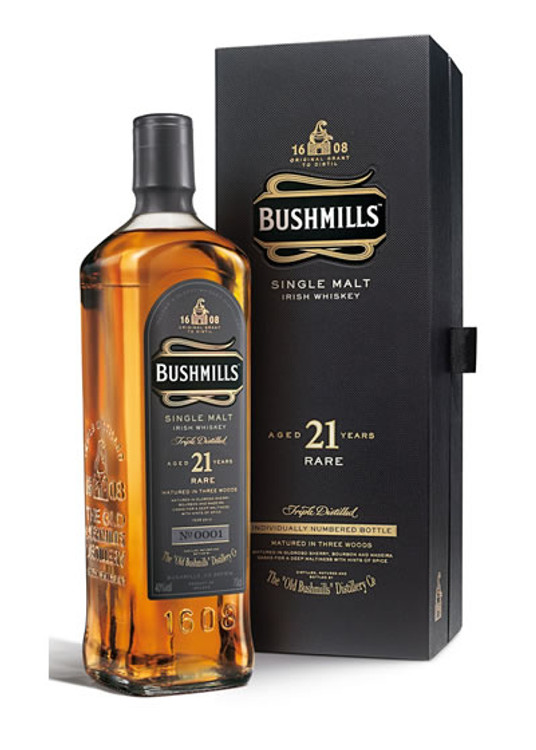 Bushmills Single Malt 21 Year Madiera Finish 750ML