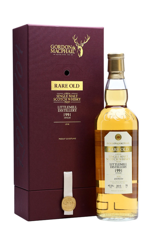 Gordon & Macphail  Littlemill 20 Year Old 1991 750ML