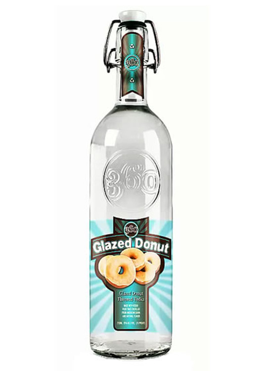360 Glazed Donut 750ML